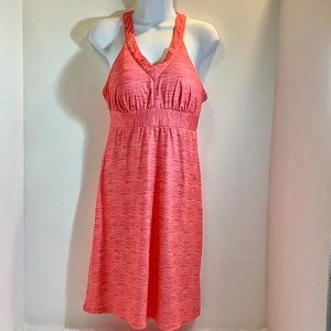 X Outdoor Sun Dress  Small Petite Coral Color